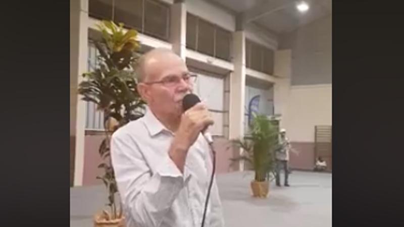 Discours d'Alfred Marie-Jeanne à l'assemblée générale d MIM (Mouvement Indépendantiste Martiniquais) au Gros-Morne
