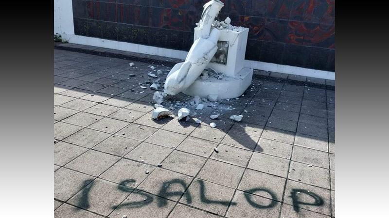 La statue foyalaise de Schoelcher : une œuvre d'anciens esclaves