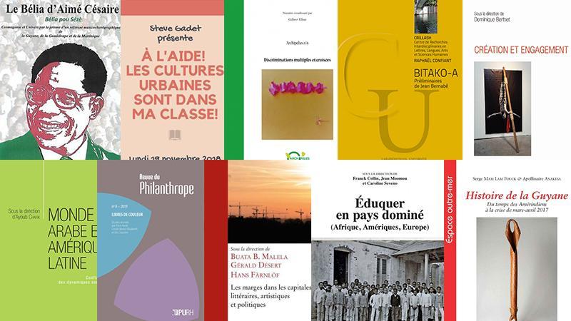 Publications 2017-2019 des enseignants de la Faculté des Lettres et Sciences humaines de l'Université des Antilles (2è partie)