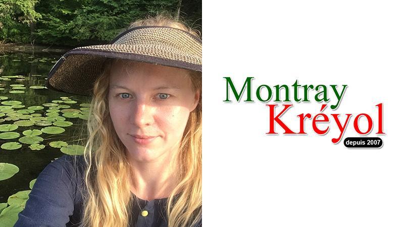 Patricia Hartland supports Montray Kréyol