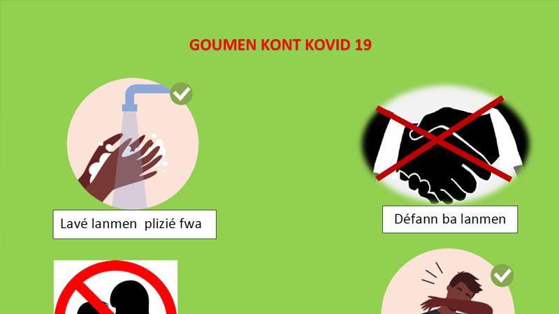 COVID-19 : UNE AFFICHE EN CREOLE POUR LES COLLEGIENS ET LYCEENS