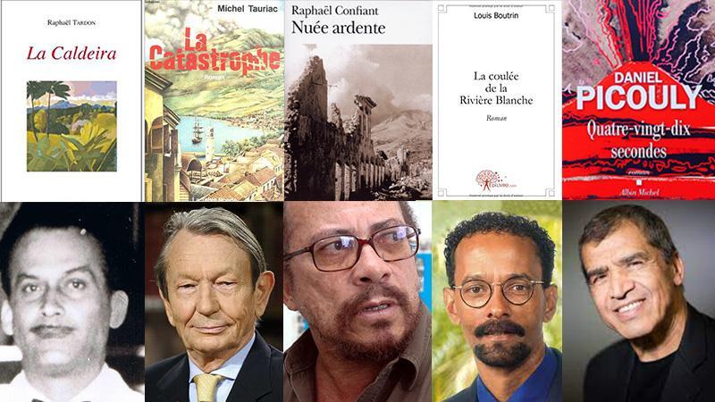 Cinq romans sur l'éruption de la Montagne Pelée