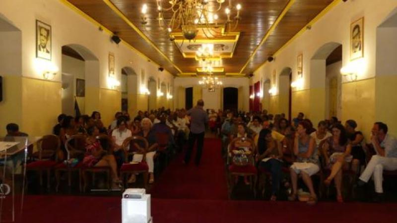 Le Collectif Couachi a tenu sa première conférence à la mairie de Cayenne