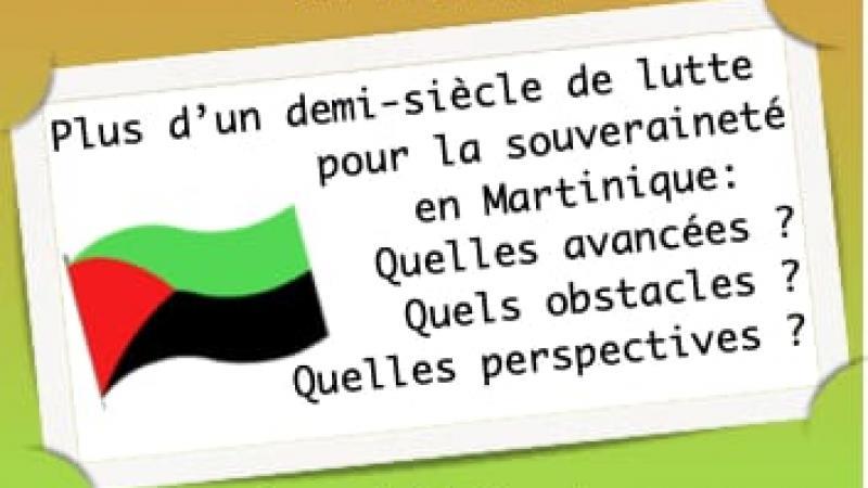 """Réunion-débat de """"Jik an bout"""" : regards croisés de Robert Saé et Garcin Malsa"""
