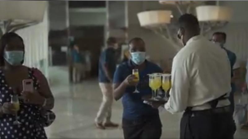 Les touristes américains accueillis en fanfare à la Jamaïque