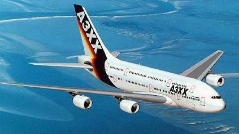 AIRBUS, an bidim jumbo A 3XX. Avril-Mai 2000