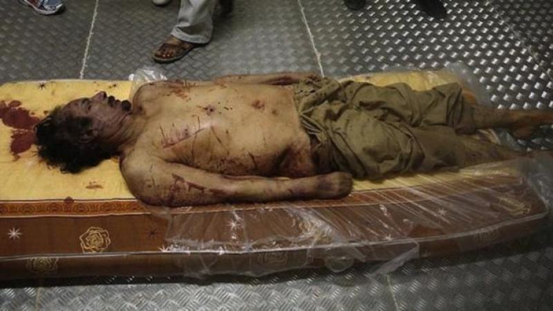 """Lybie : 120.000 morts plus tard, ils parlent de """"crime contre l'humanité"""""""