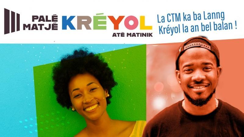 Palé Matjé Kréyol : La CTM ka ba lanng Kréyol la an bel balan !