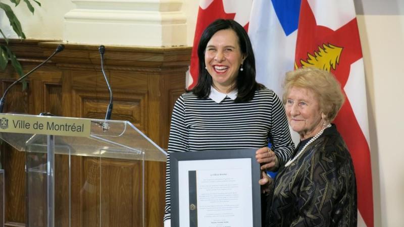 Il faut protéger le français à Montréal, juge l'auteure de «La Sagouine»