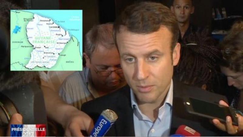 MACRON « J'IRAI M'EXCUSER AUPRES DES GUYANAIS LORS DE MON TOUR D'AFRIQUE LA SEMAINE PROCHAINE »