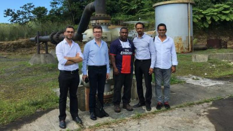 ENERGIE : LA CTM SE POSITIONNE SUR LE PROJET DE GEOTHERMIE A LA DOMINIQUE