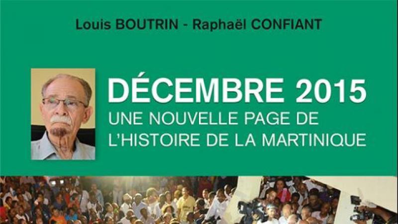 """SOIREE LITTERAIRE AUTOUR DU LIVRE """"DECEMBRE 2015"""" DE L. BOUTRIN & R. CONFIANT"""