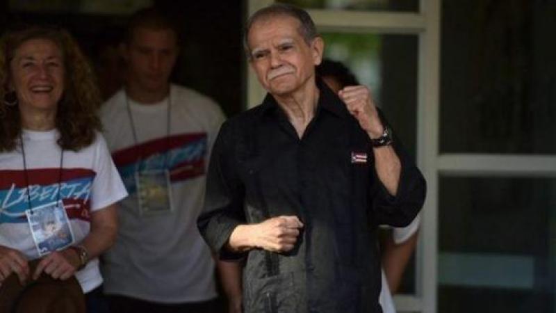 EN LIBERTAD OSCAR LOPEZ RIVERA LUEGO DE 36 AÑOS DE CARCEL EN ESTADOS UNIDOS