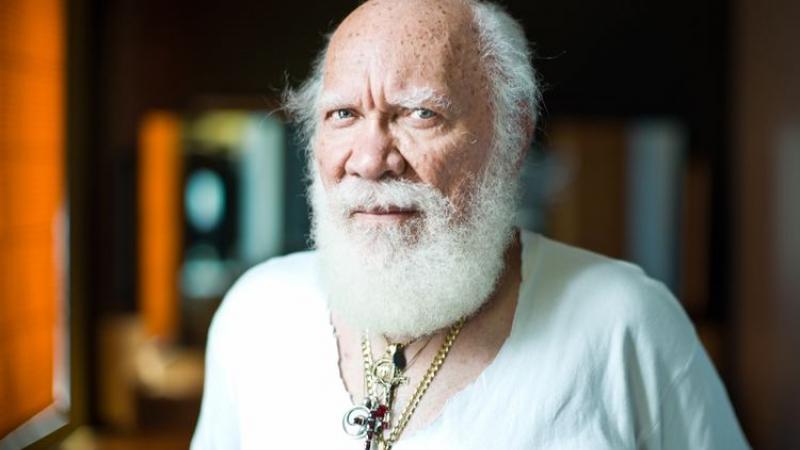 L'écrivain haïtien Frankétienne fête ses 83 ans