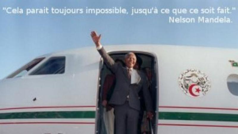 MANDELA L'ALGÉRIEN