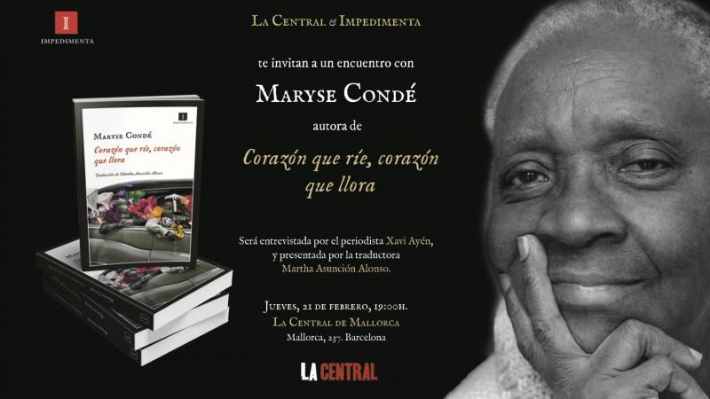 Barcelone célèbre Maryse Condé