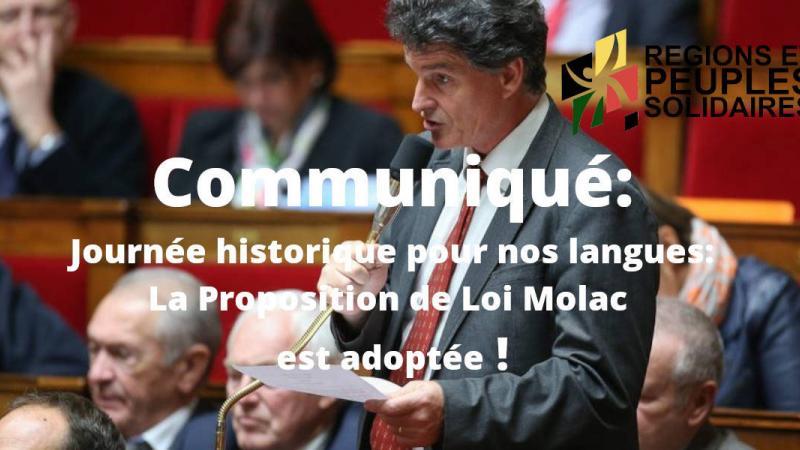 La loi Molac pour les langues minoritaires est un progrès important
