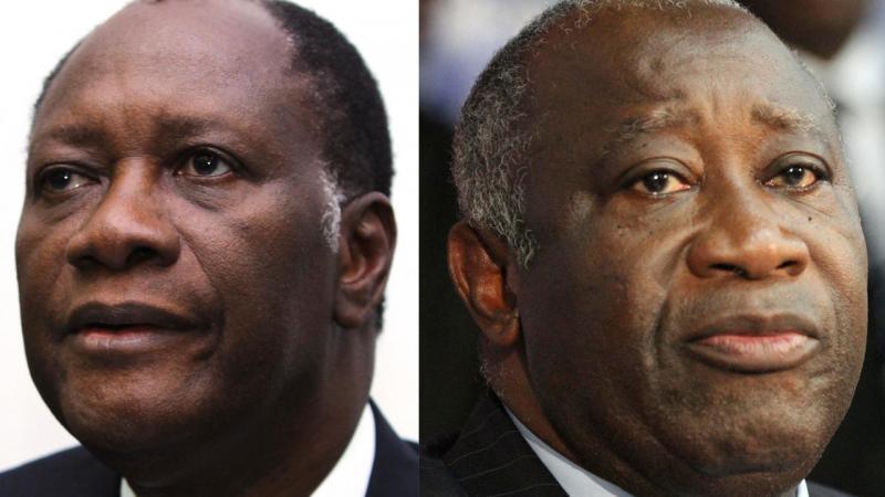 Alassane Ouattara et Laurent Gbagbo: de la lutte à mort aux retrouvailles forcées