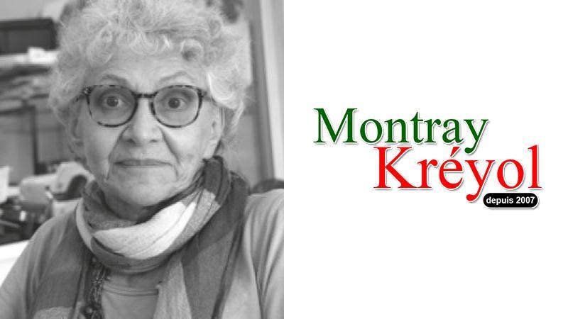 Elisabeth Grant supports Montray Kréyol