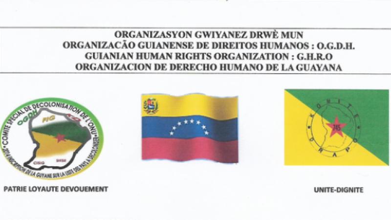 L'Association Guyanaise des Droits Humains soutient la Consituante vénézuélienne