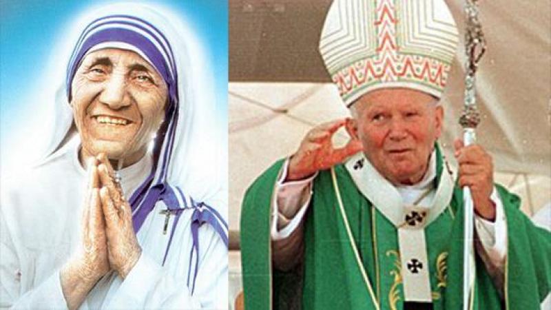 #BALANCETONPORC : MERE TERESA ACCUSE LE PAPE JEAN-PAUL II DE LUI AVOIR CHATOUILLE LE MENTON