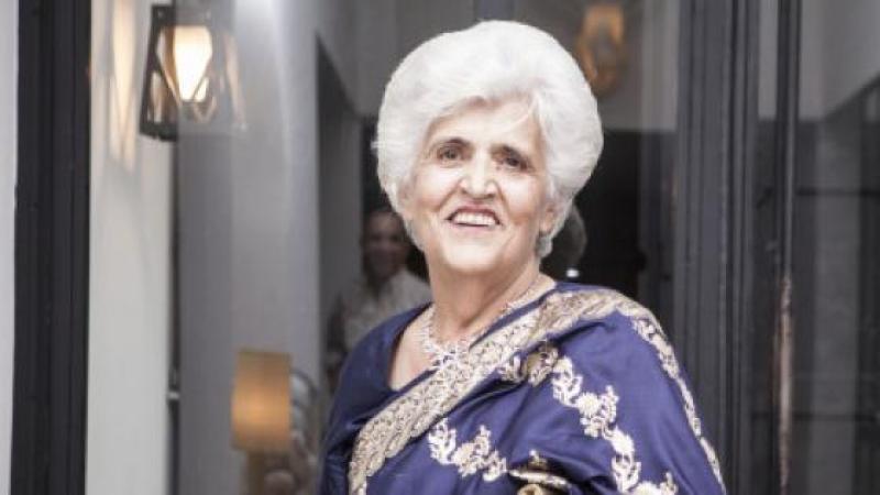 PADOU BAHARANI, L'UNE DES DERNIERES REPRESENTANTES DE LA COMMUNAUTE INDIENNE EN TUNISIE
