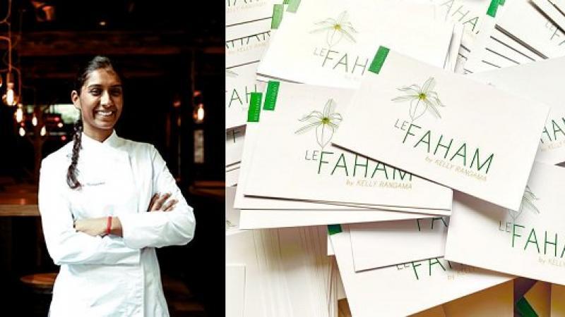 Le Faham : Kelly Rangama ouvre son 1er restaurant à Paris