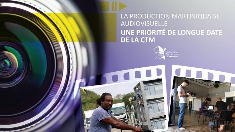 La production martiniquaise audiovisuelle : une priorité pour la CTM