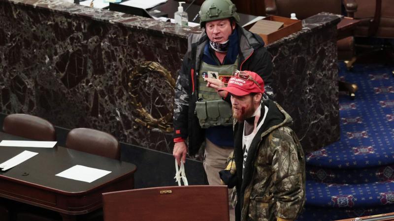 An Air Force Combat Veteran Breached the Senate