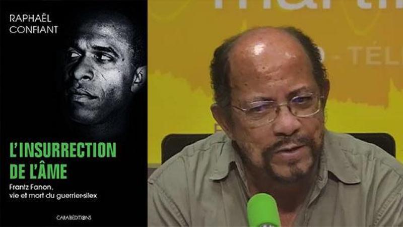 Raphaël Confiant interrogé par Jean-Marc Party sur MARTINIQUE 1è à propos de son ouvrage sur Frantz Fanon