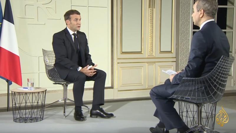 Face au boycott des produits français dans le monde Arabe, Emmanuel Macron tente d'apaiser les choses sur Al-Jazeera