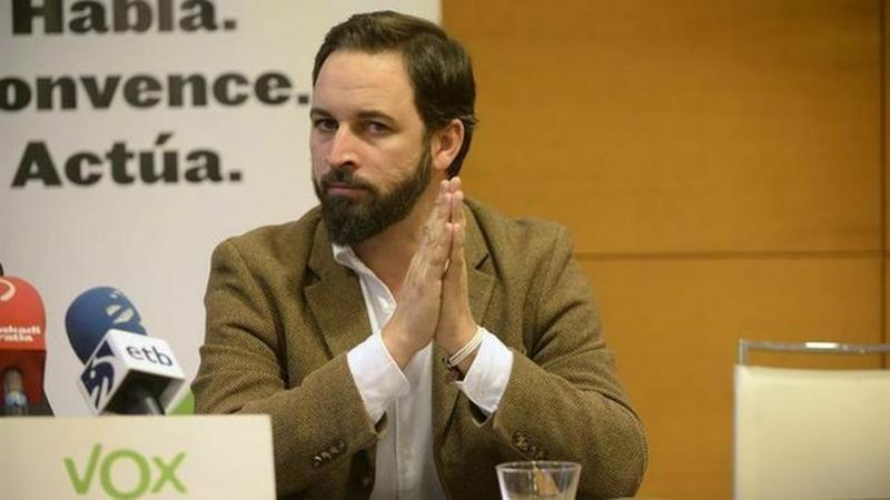 Santiago Abascal es descendiente del caudillo