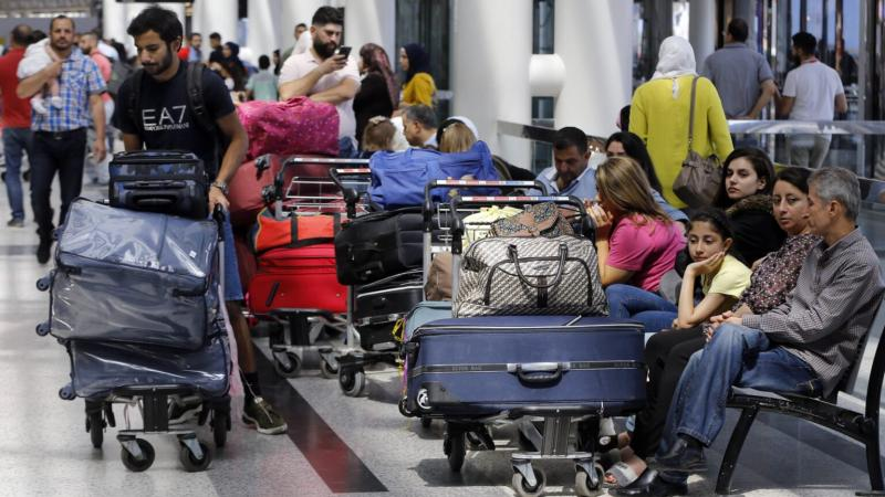 Lebanese flee crisis at home to seek better life in Africa