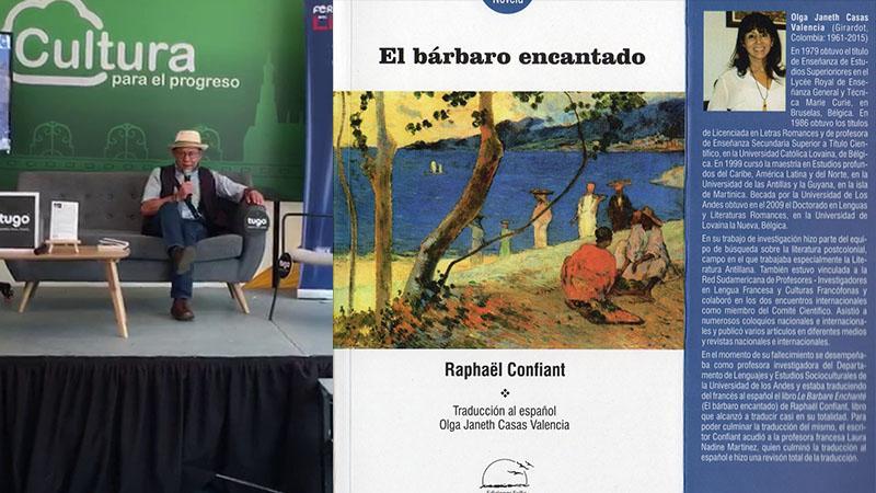 """PRESENTATION DU """"BARARO ENCENTADO"""" A LA FOIRE DU LIVRE DE CALI (COLOMBIE)"""