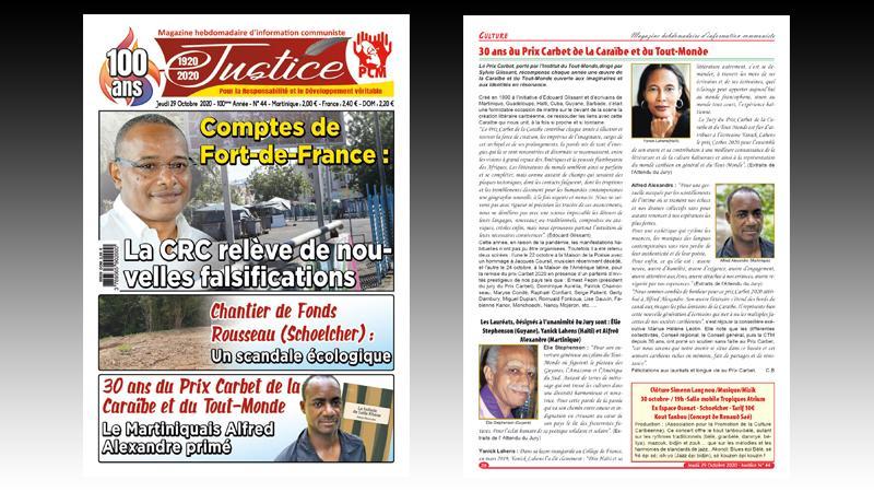 Comptes de la Ville de Fort-de-France : La Chambre régionale des comptes (CRC) relève de nouvelles falsifications au CA 2019 et au BP 2020