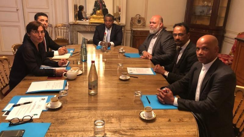 PATRIMOINE MONDIAL DE L'UNESCO : UNE DELEGATION MARTINIQUAISE RECUE PAR LA MINISTRE DES OUTRE-MER