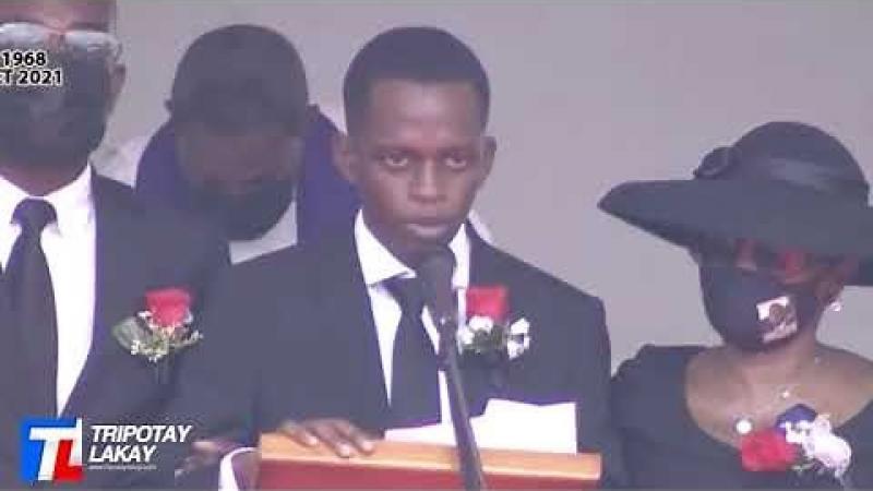 Funérailles du président haïtien Jovenel Moïse
