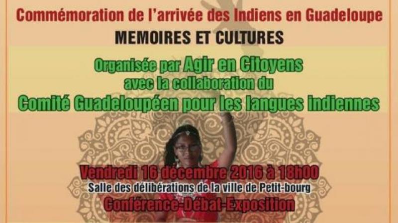 COMMEMORATION DE L'ARRIVEE DES INDIENS EN GUADELOUPE