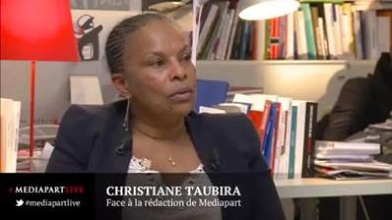 Quand Christiane Taubira bottait en touche sur la question du boycott des produits israéliens