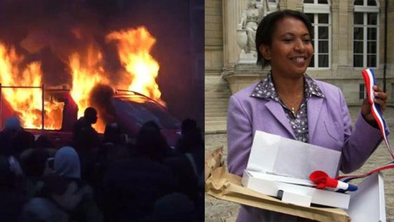 Bobigny et la banlieue brûle, Hellène Geoffroy se tait !