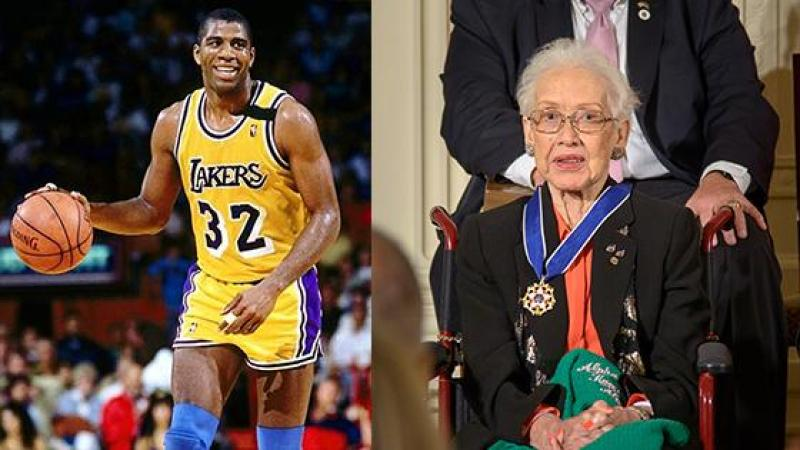 Vous connaissez Magic Johnson, mais pas Katherine Johnson...