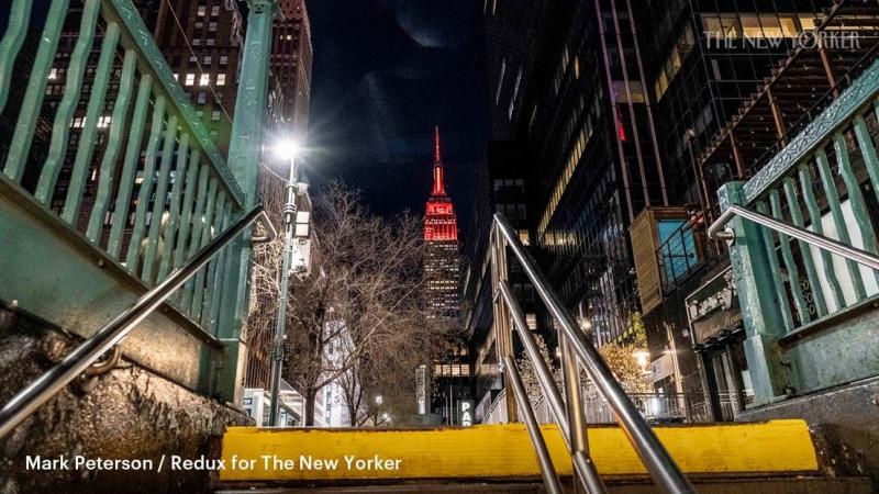 New York City in the Coronavirus Pandemic