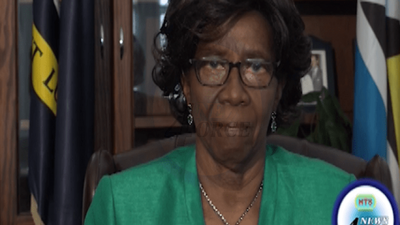 DAME PEARLETTE LOUISY ANNOUNCES RESIGNATION AS GG