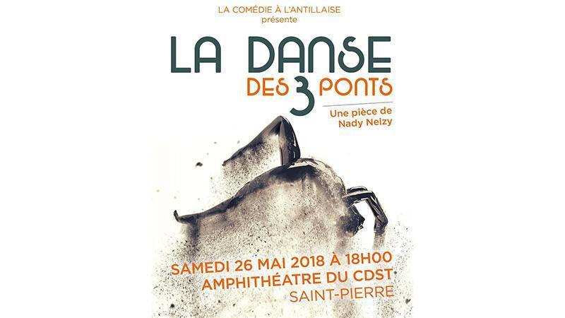 La danse des trois ponts,  Un conte animé par un bèlè en  hommage à ville de Saint Pierre
