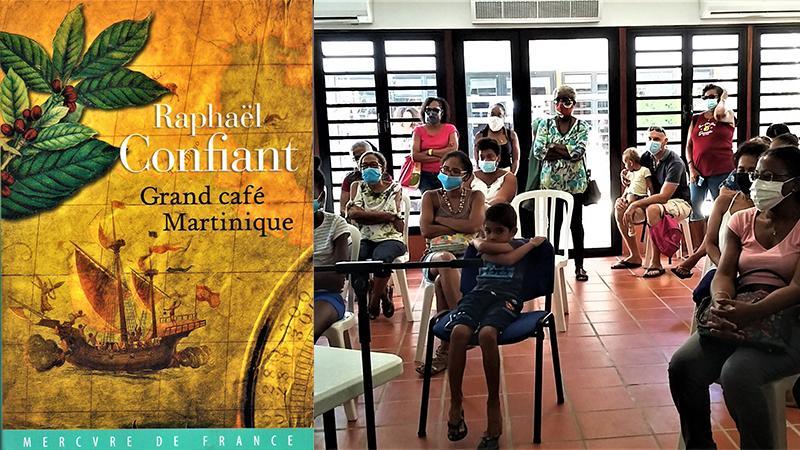 « GRAND CAFE MARTINIQUE » de Raphaël CONFIANT. - son dernier ouvrage, une histoire romancée du café, paru en 2020-