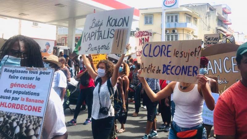 Etat et justice, sachez que les Martiniquais n'accepteront jamais la prescription dans le scandale du chlordécone !