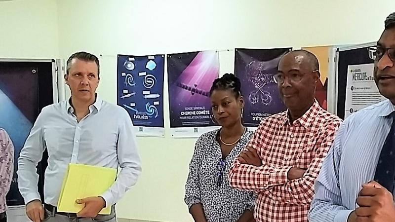 L'astrophysicien Alain DORESSOUNDIRAM en Martinique pour une semaine