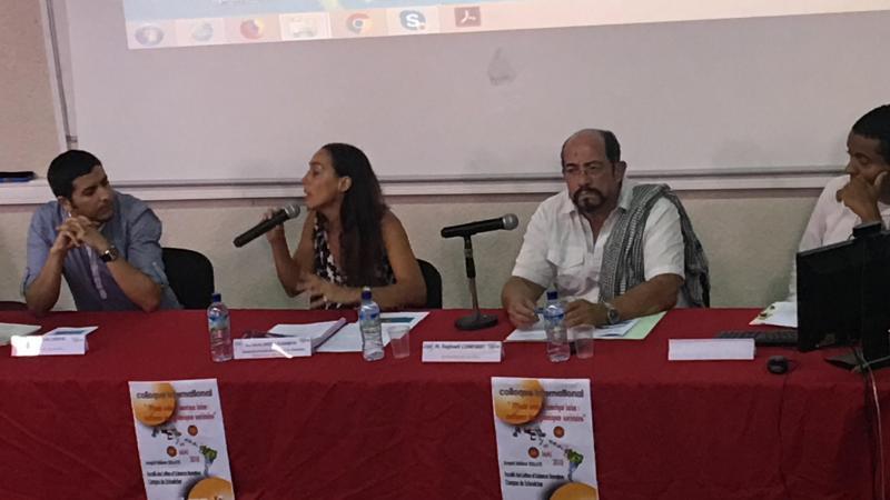 """Faculté des Lettres et Sciences humaines (Martinique) : conférence inaugurale du colloque """"Monde arabe et Amérique latine : confluence des dynamiques sociétales"""" (03 et 04 mai 201)"""