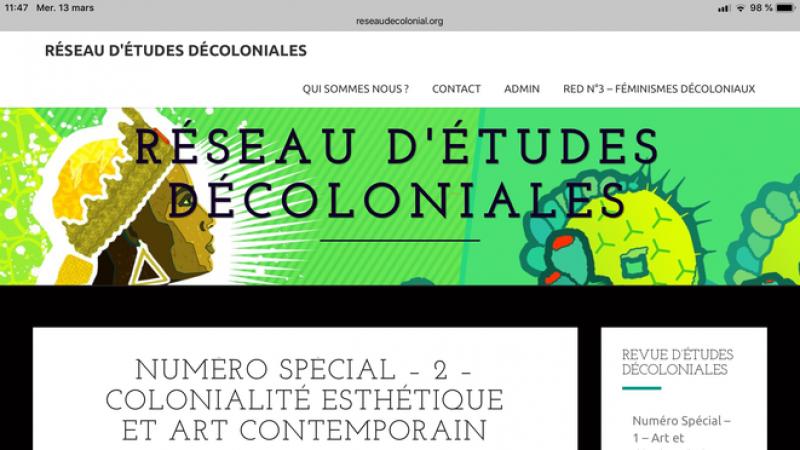 « Colonialité du pouvoir » en circulation/en exercice dans les espaces francophones.