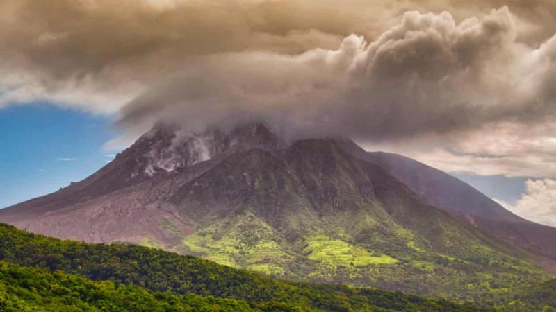 Caribbean volcanoes rumble to life as scientists study activity not seen in years